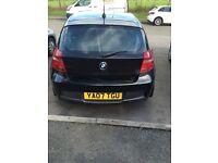 BLACK, BMW 118 D, M SPORT, 2.0