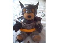 Build A Bear - Bat Man Bear In Full Costume