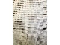 White long mesh top