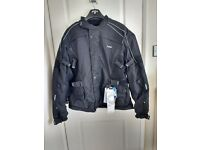 Brand new mens 5XL Buffalo waterproof motor cycle jacket.