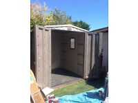 Keter 5ft x7ft plastic shed