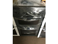 REFURBISHED BELLING GAS COOKER 50CM GLASS LID WITH GUARANTEE + DELIVERY