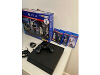 PS4 + 3 games