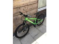 "Carrera Blast 24"" disc- spec mountain bike. Suitable for 9-14 year olds."