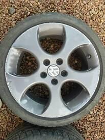 "17 "" BBS Monza alloy wheels"