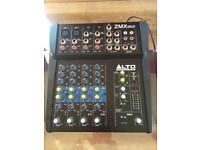 Perfect condition: 6 channel 2 BUS Alto Professional ZMX862 Mixer