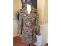 Leopard jacket size 12
