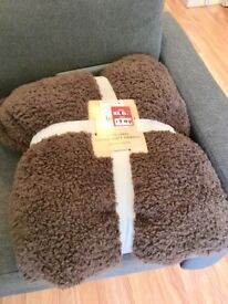 Teddy Bear Extra Large Super Soft Throw Blanket