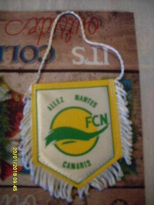 petit fanion équipe de football collection fan supporter Nantes france