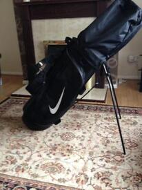 Nike stand bag , sell are swap for cart bag