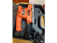 Black & decker sander as new slightly used