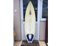 """Billabong Surfboard - 5'10"""" with Bag (REDUCED)"""