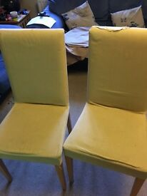 Dining chairs x. 4