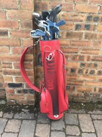 Bag of Mixed Golf Clubs. Cash or Crypto.