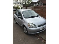 Toyota Yaris 1.0 2002 VERY LOW MILEAGE 30k! 1 Lady Owner & Full Service History 12 Months MOT