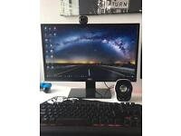 "Gaming pc with 21.5"" gaming monitor"