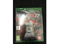 Brand new sealed NBA2K17 Xbox one