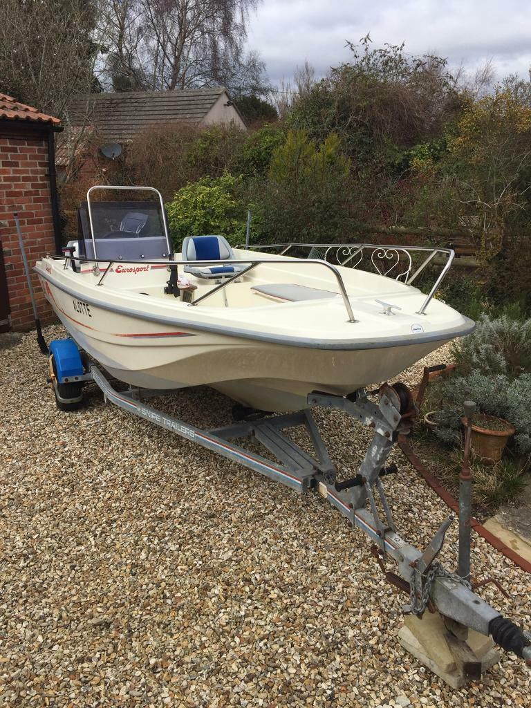Dell Quay Eurosport 15 Dory Boat