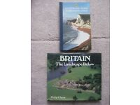 AA Illustrated Guide to Britain's Coast and Britain the Landscape Below - £10.00 each