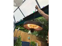 Outsunny electric patio gazebo heater 2.5kw