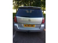 Vauxhall zafira 1.9 sri 7seater diesel for sale