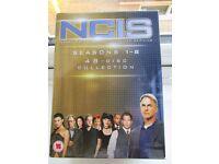 N.C.I.S. Naval Criminal Investigative Service Series 1-8 48 Discs £30.