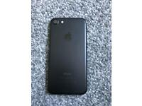 iPhone 7 jet black 32gb with box