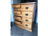 Laura Ashley garrat chest of drawers honey finish