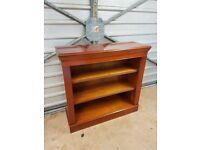 High quality mahogany sideboard/bookcase