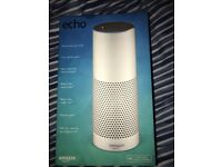 Amazon Echo for Sale - Perfect Condition other than slight tear on box