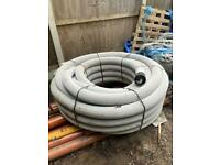 Wrapped Perforated Land Drain Coil Pipe 100mm x 100M