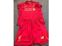 Boys Liverpool kit
