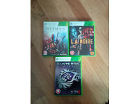 X-Box 360e 4GB with added 500GB hard drive Games and Controller