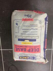 Floor Self leveling compound, cement setcrete x 3
