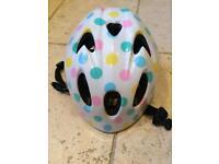 Polka Dot Toddler Bike Helmet