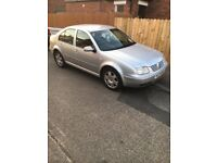 Vw bora silver 1.6 petrol. MOT til June 2019. Well maintained last 4 years with proof of servicing
