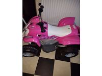 Pink quad bike for sale