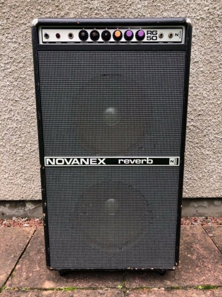 "Novanex RG50 Reverb & Tremolo 2x12"" Guitar/Bass Combo Amp Amplifier for sale  Yate, Bristol"