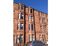 Lovely 1 bedroom sandstone tenement flat Linthouse - right next to hospital