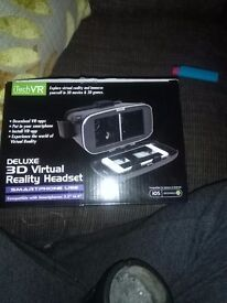 For sale virtual reality headset