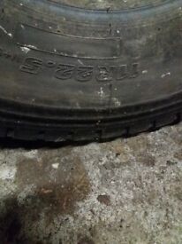 2 lorry tyres good as new