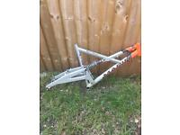 Marin bike frame (fox vanilla shock ) project spares repair