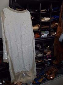 All saints embelished dress size 14
