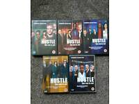 Hustle TV series DVD series 1 to 5