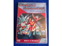 TRANSFORMERS THE MOVIE (1986 Cartoon Version) on DVD