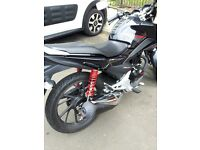 HONDA CB125F 2017 MODEL, ONLY FOUR MONTHS OLD