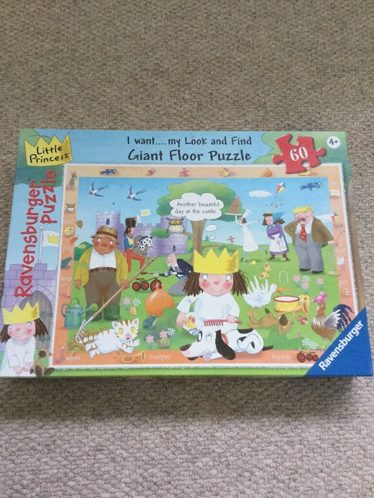 Little Princess Giant floor puzzlein Cambridge, CambridgeshireGumtree - Little Princess Giant Floor Puzzle from Ravensburger. 60 pieces. Age 4 . Great condition