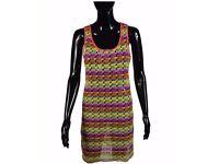 Womens Multi Colour Maxi Dress