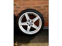 Alloy mercedes wheels