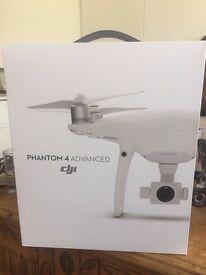 DJI Phantom 4 Advanced, completely new (still sealed)